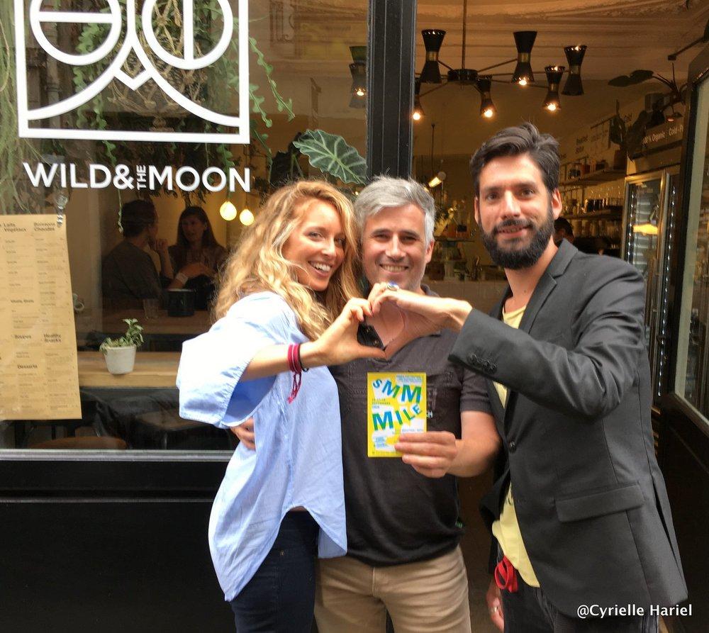 Sylvain Tardy et Nicolas Dhers, les co-fondateurs du Vegan Pop Festival