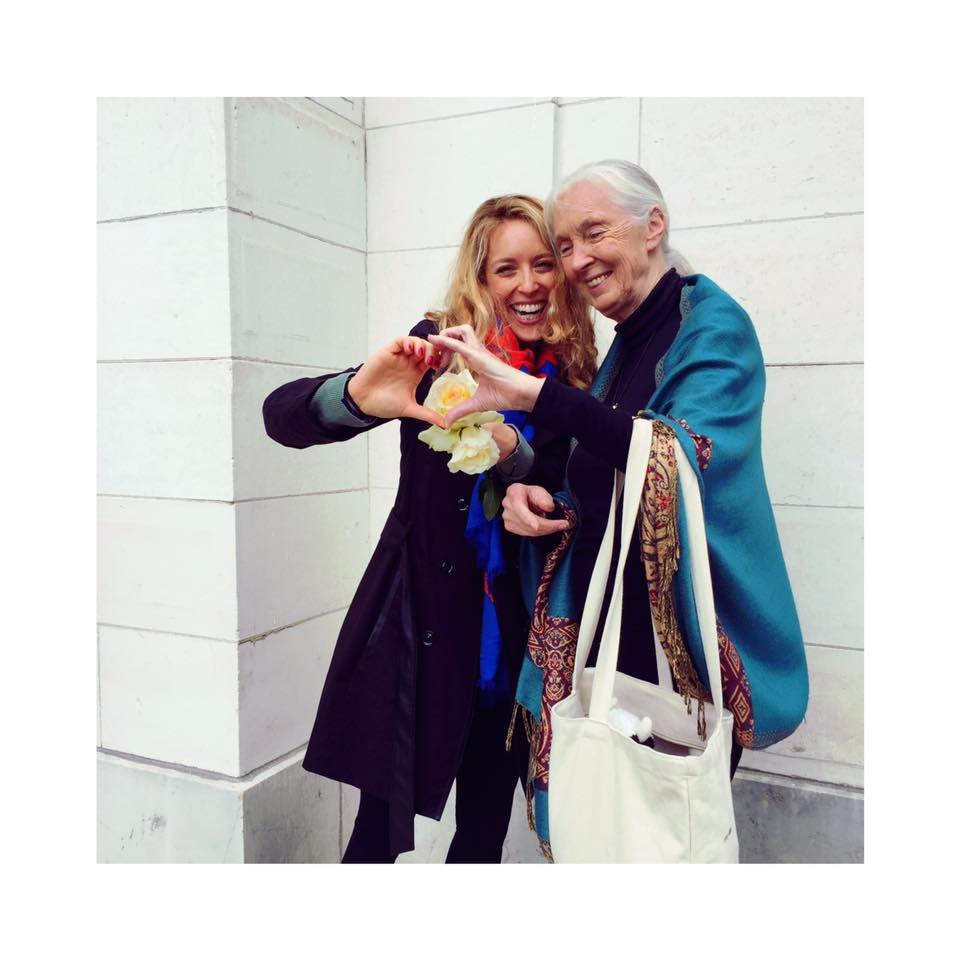 Le Dr Jane Goodall - 13 mai 2017