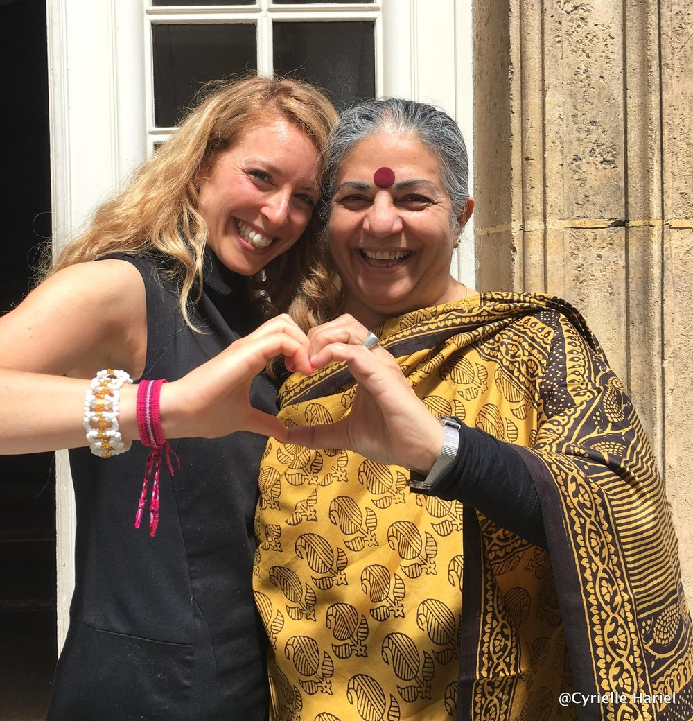the ecologist, philosopher & feminist vandana shiva