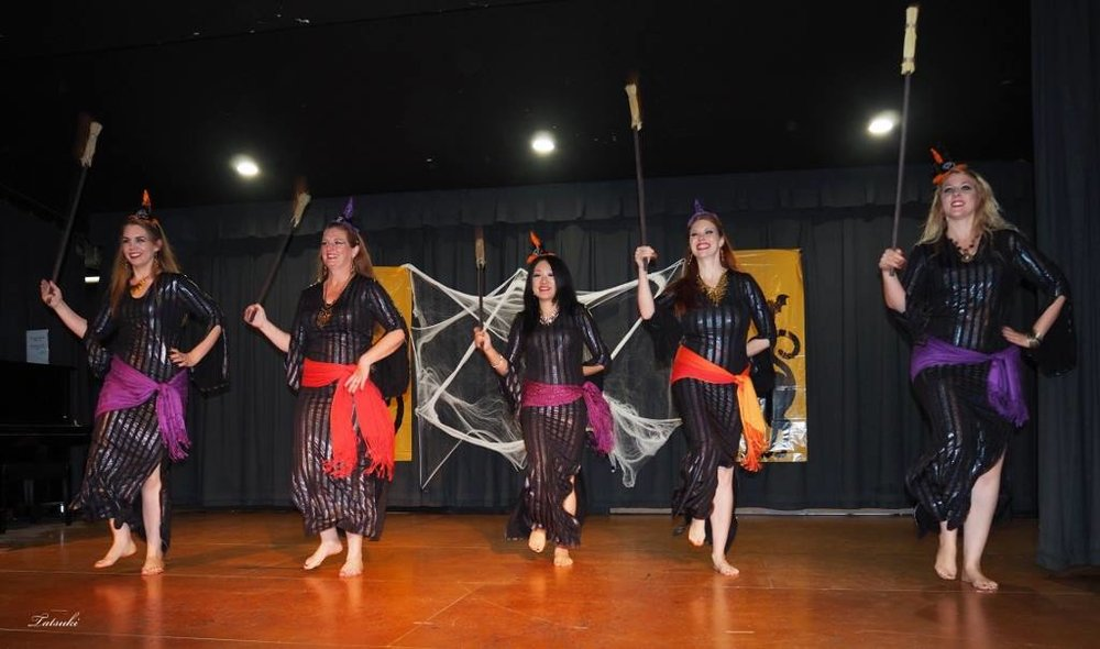 SilkRain Performs at 2015 Halloween Hafla