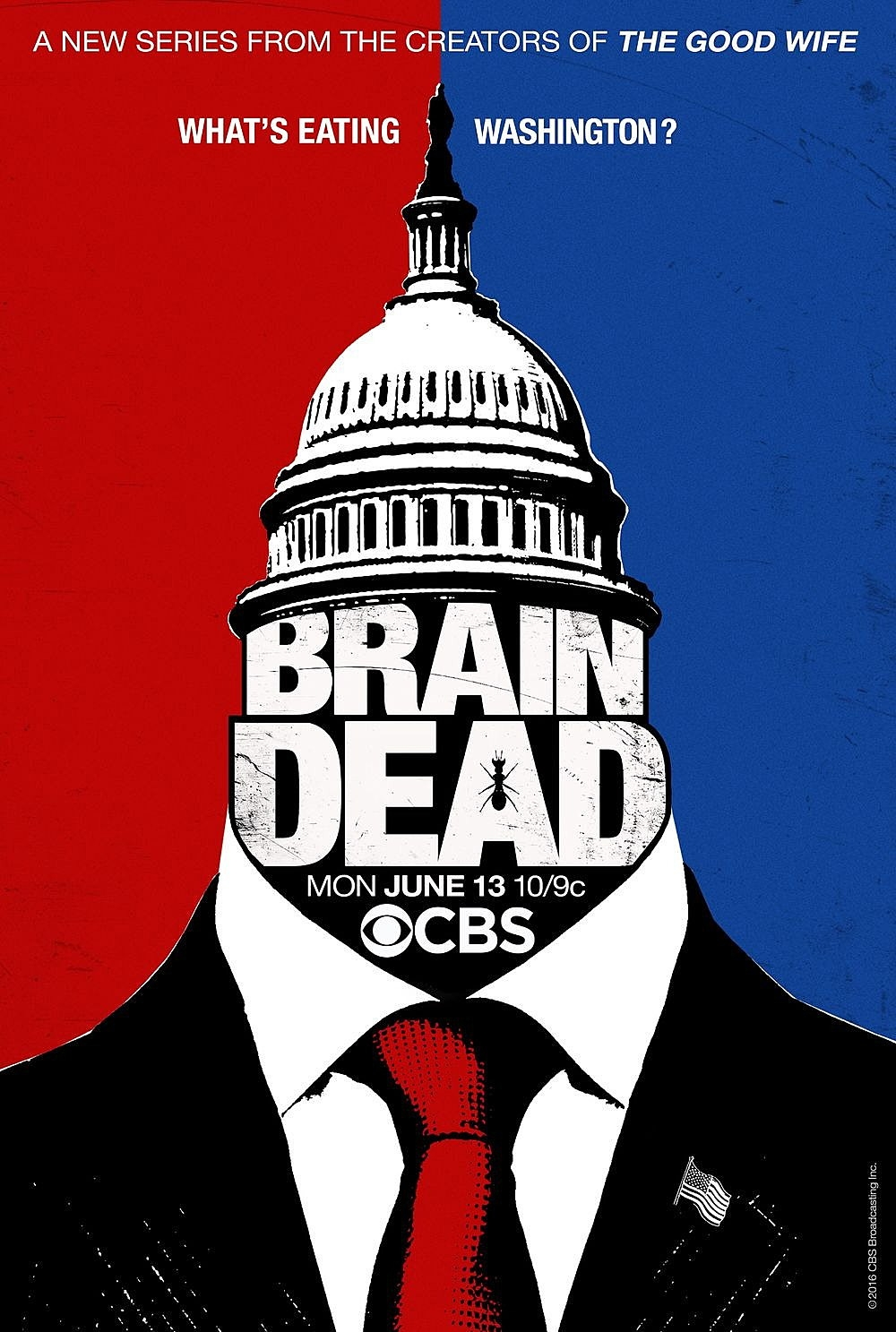 BRAINDEAD, CBS  Costume Coordinator Season 1