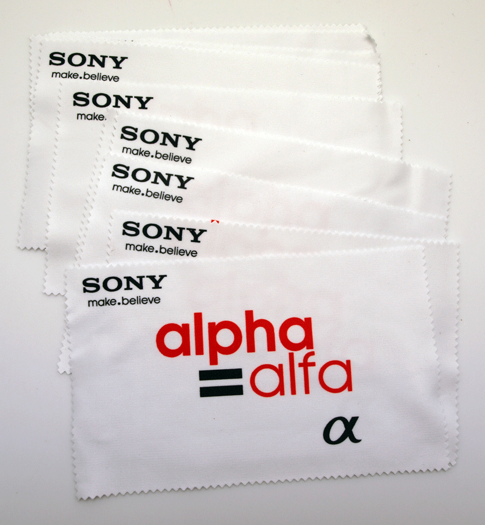 Microfiber cloths are popular in the IT industry!