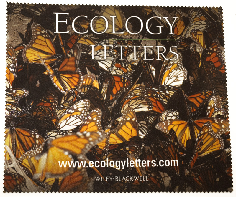 Beautiful artwork on an Ecology microfiber cloth