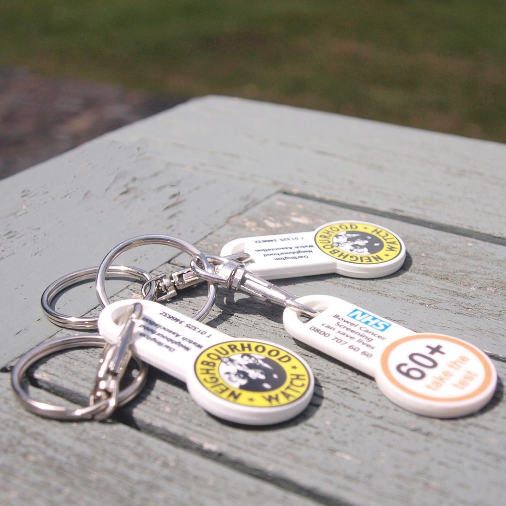 Eco-friendly stick type keyrings.