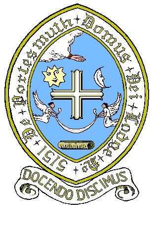 The Lodge crest - a rarity amongst Freemasonry as it displays a cross, largely known as a Christian symbol. As Freemasons do not discuss Religion or Politics when we meet, this required special permission and was granted on the association the lodge has with the Domus Dei (now known as The Royal Garrison Church)
