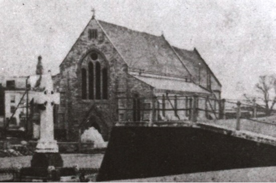 The Garrison Church in 1870