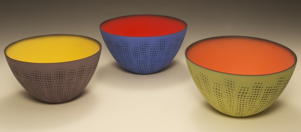 Small Grid Bowls