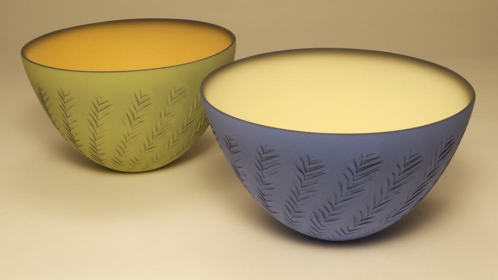 Chevron Bowls