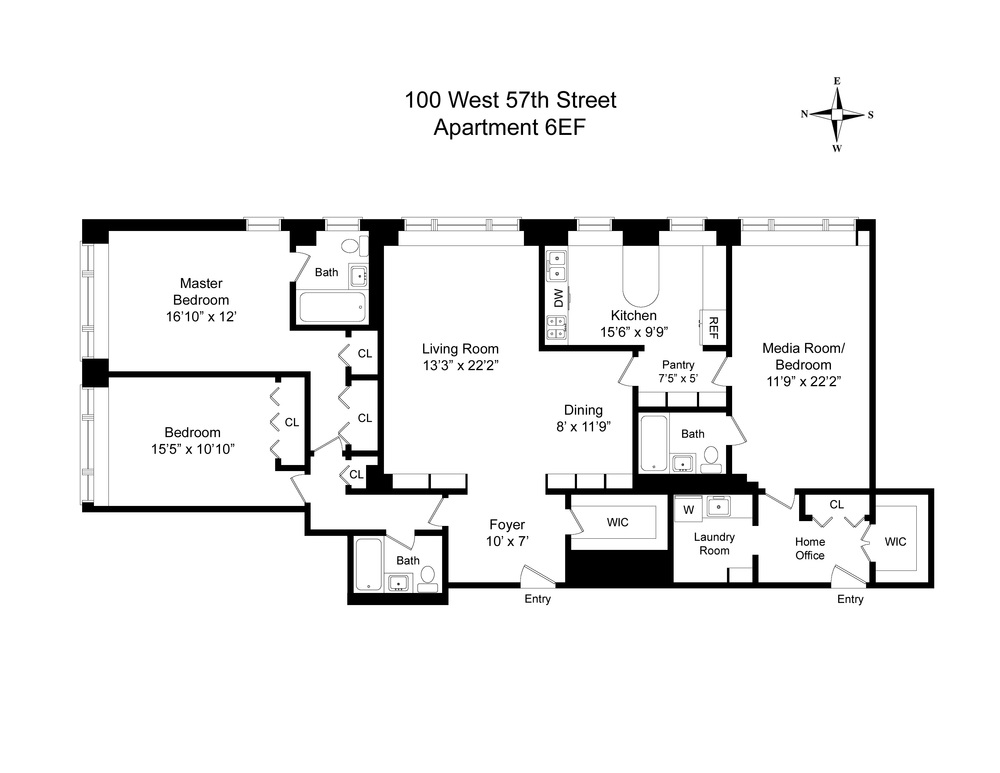 Floor Plan - 100 West 57th Street 6EF.jpg