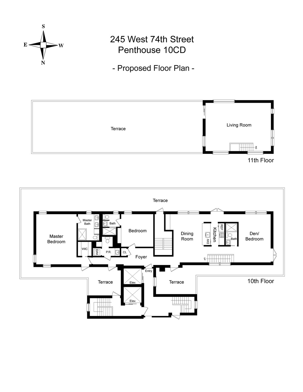 Proposed Floorplan_245 West 74th Street, PH10CD.jpg