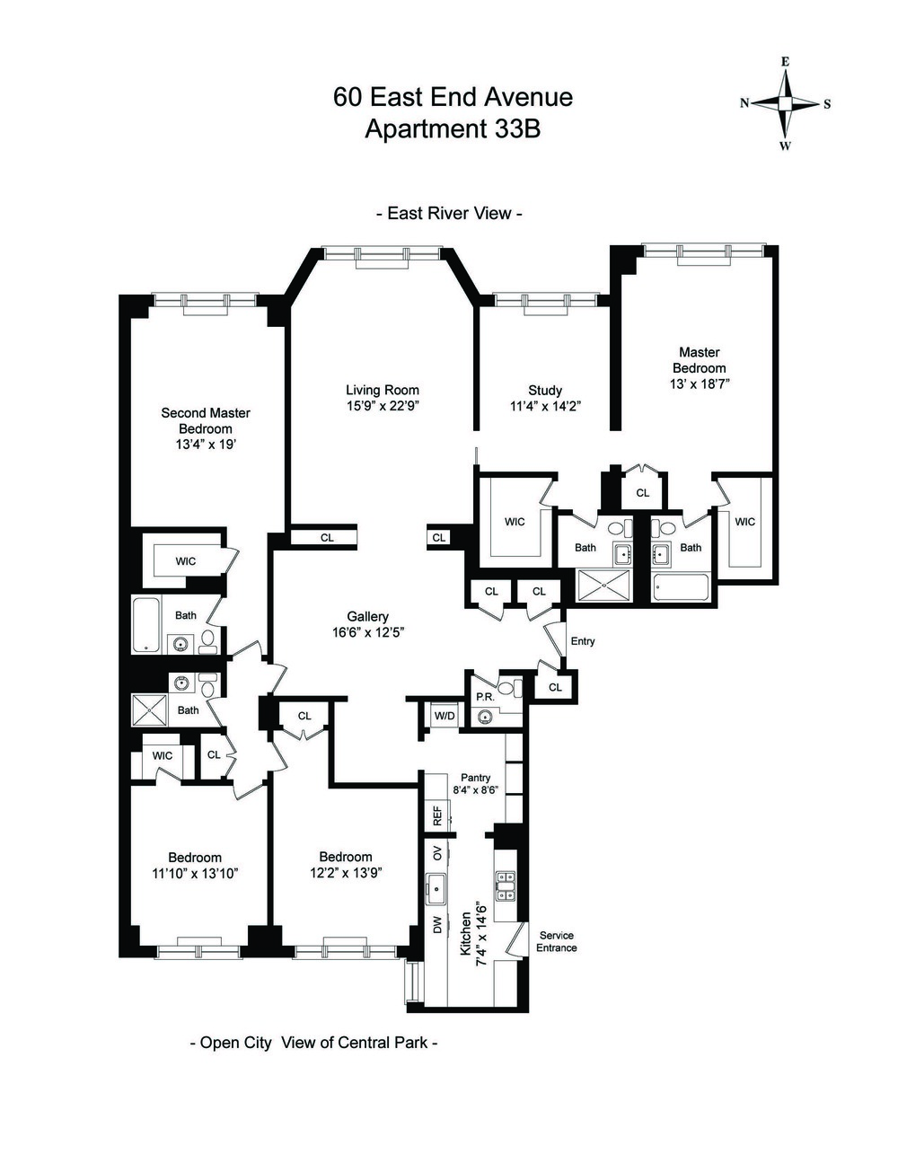Floor Plan - 60 East End Avenue 33B.jpg