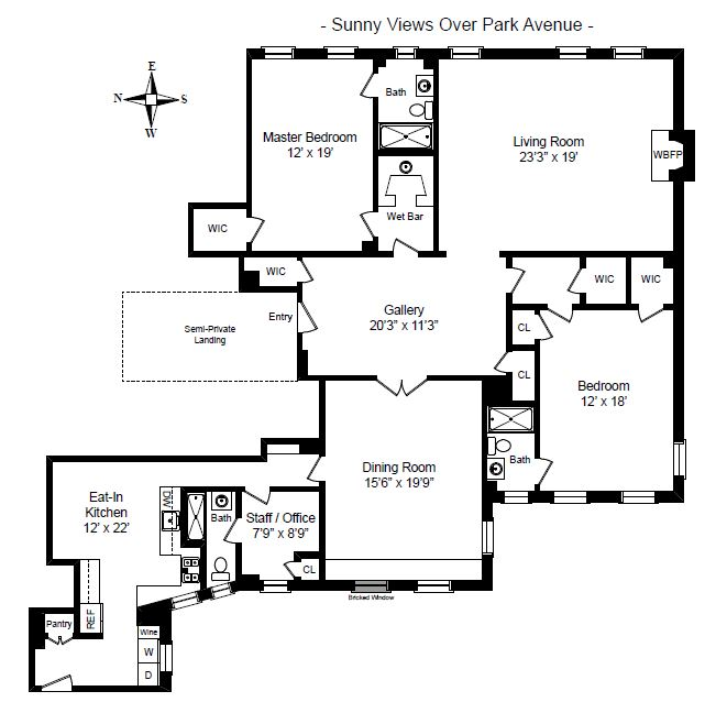 812 Park Avenue, 10A Floorplan.JPG