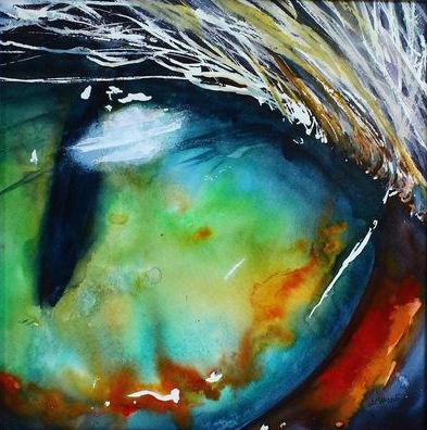Cats Eye - Watercolor