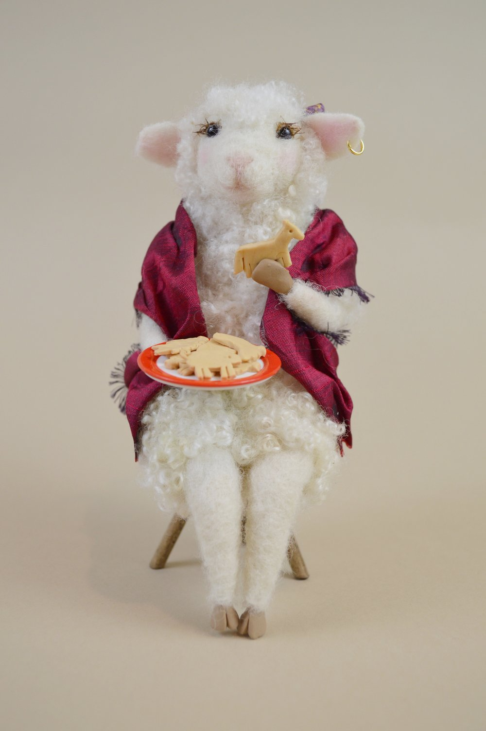 Gypsy, the Animal Cracker Loving Sheep