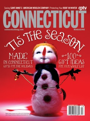 Holly's artwork on the cover of CT Magazine's December 2014 issue