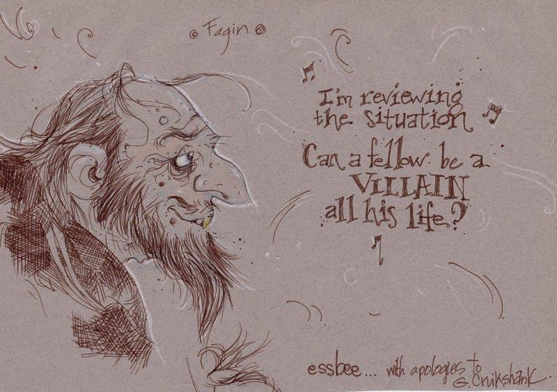 character sketch of fagin in oliver twist