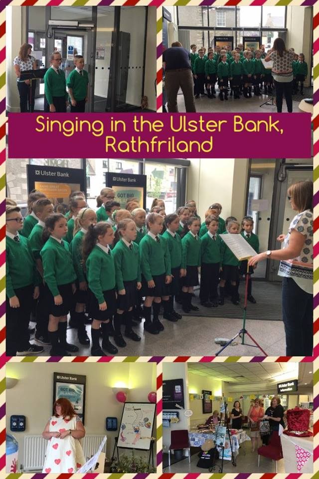 The choir from St Patrick's Primary School, Rathfriland performing at Ulster Bank Cash for Kids NI fundraiser..jpg