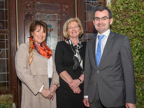 Kaye Ronayne, Dr. Louise Nestor & Professor Seamus O'Reilly (Chairman, Board of Trustees)