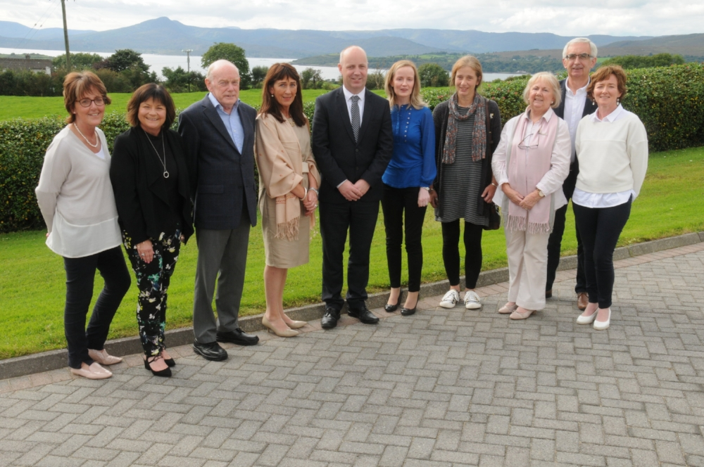 Minister Jim Daly Visited Cork ARC in 2017