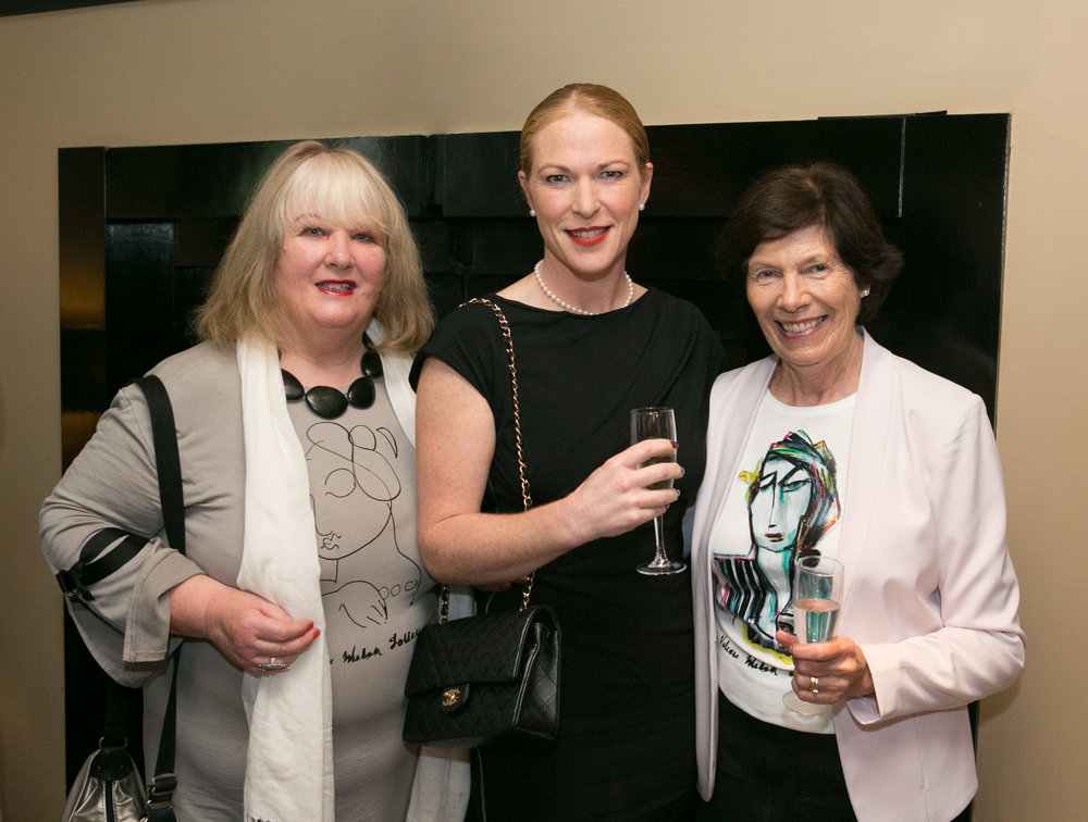 Artist Valerie Walsh Jolley from Douglas, Jean Foley, Cobh and Mary Nolan, Togher at the Annual Aer Lingus Autumn Lunch in aid of Cork ARC Cancer Support House.