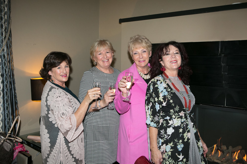 Liz O'Connor, Ballinhassig, Mary Barry, June Mc Carthy and Mary O'Callaghan, all from Ballincollig at the Annual Aer Lingus Autumn Lunch in aid of Cork ARC Cancer Support House.