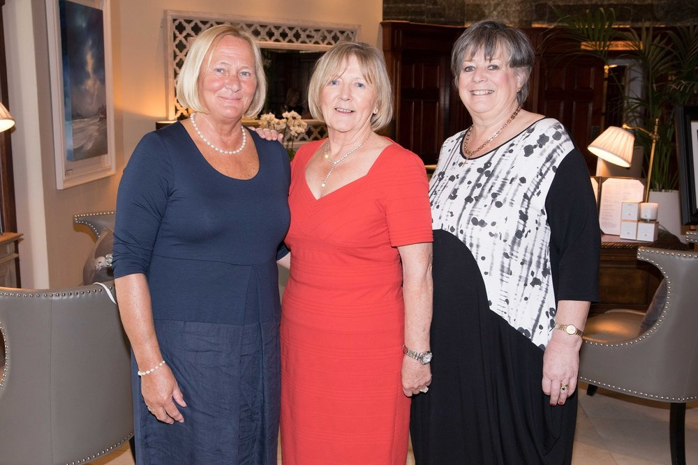 Ann Barry, Patt Dillon, Glounthaune and Carol Cave