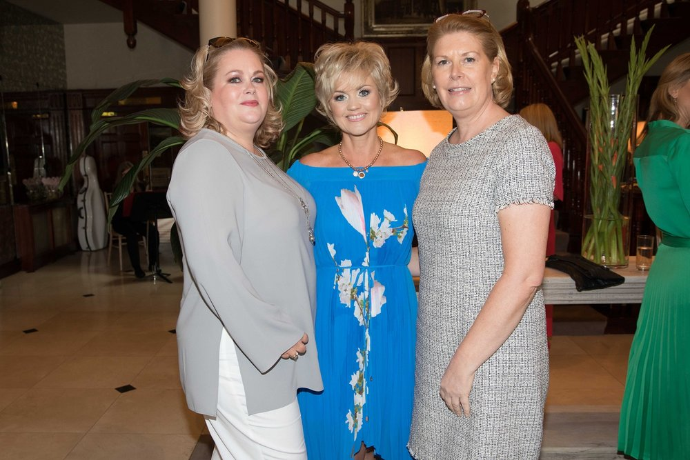 Néidín Fitzpatrick, Glanmire, Tanya Murphy and Vivienne MacSweeney, White Church