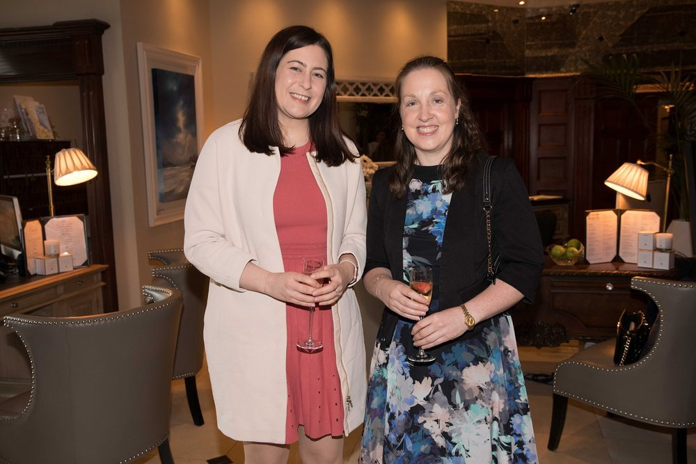 Paula Cotter, Blackrock and Susan Lyne, Douglas