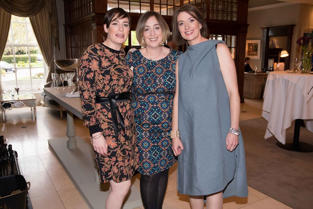 Siobhán Joyce, Aileen Ryan and Evelyn O'Sullivan