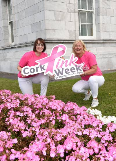 Organisers Sylvia McHenry and Miriam Healy,  image credit: Larry Cummins, Evening Echo