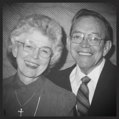 J. Henry's is named in honor of Henry Gonzales, the owner's Pepere (grandfather).  Pictured here with wife Yvette.