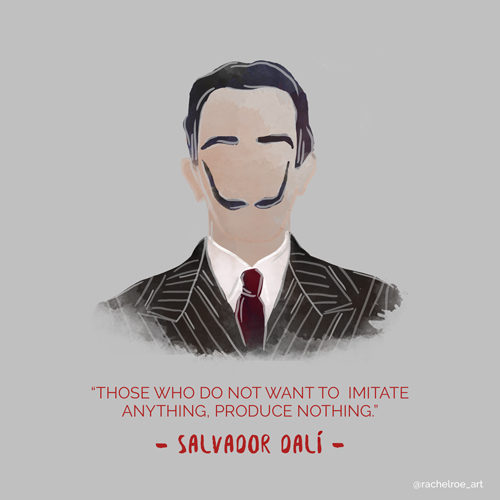 Dali Illustration