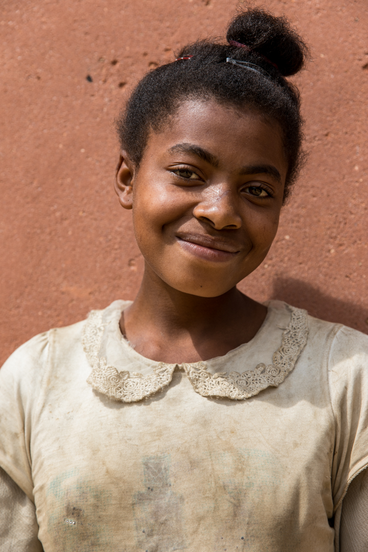Fleurette is 15 years old and in her final year of school. Her dreams are to get married to someone in her village, and live a healthy, happy life with her family. She currently collects water twice a day with her sister. She knows access to clean water will change her life and give her time to focus on building her life.