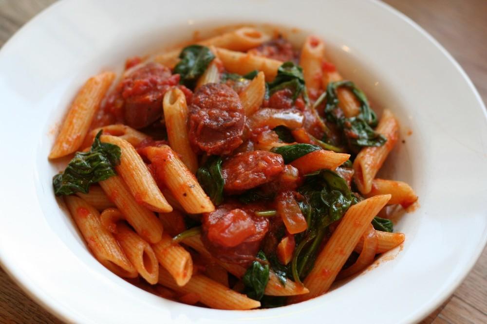 Recipe for chorizo sausage and pasta