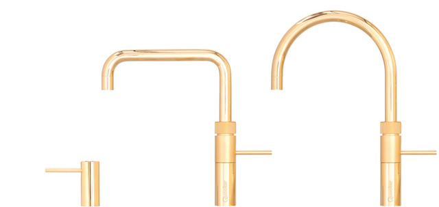 Ask in store about the Quooker Fusion - The Golden One