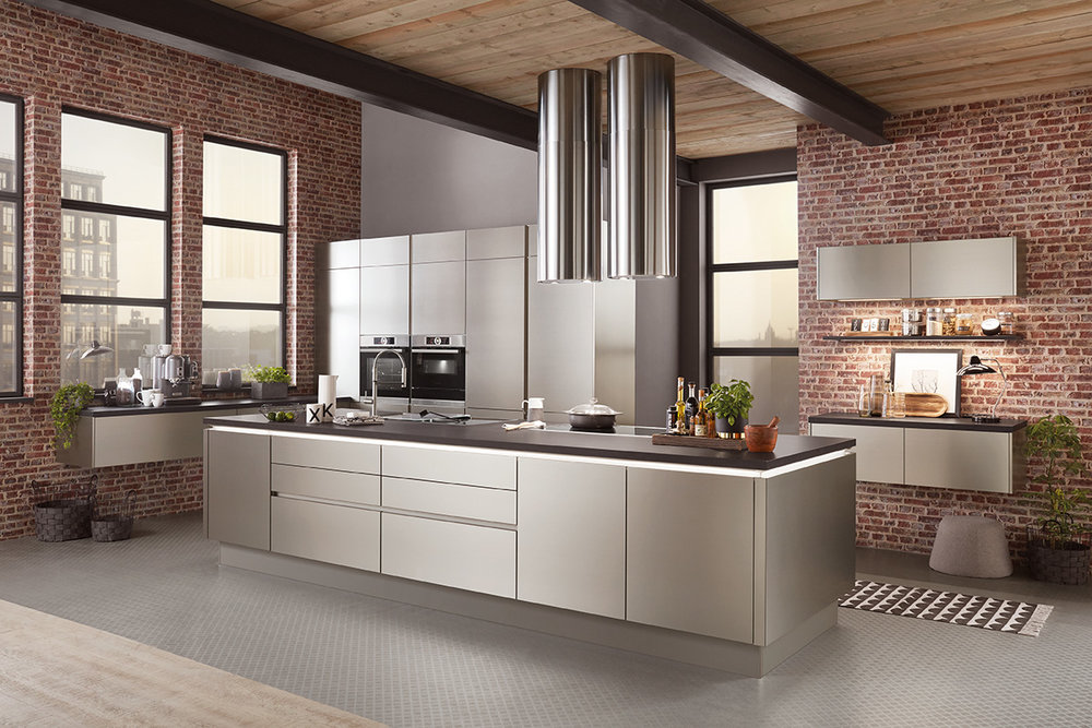 NATURAL - Natural wood aesthetic coupled with elegant textures and industrial finishes make for some show-stopping kitchens.