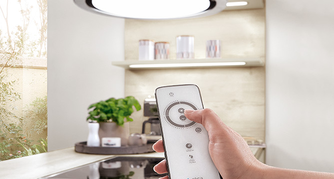 INTEGRATED EMOTION LIGHTING - From integrated LED strips and shelf lighting, to stylish plinth lighting and handle recess lighting, the brightness and temperature of which can be remote controlled or regulated over your in-house WiFi via your smartphone or tablet. It's subtle but so stylish.