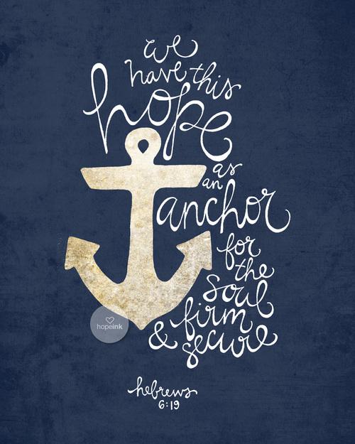 anchor hope ink