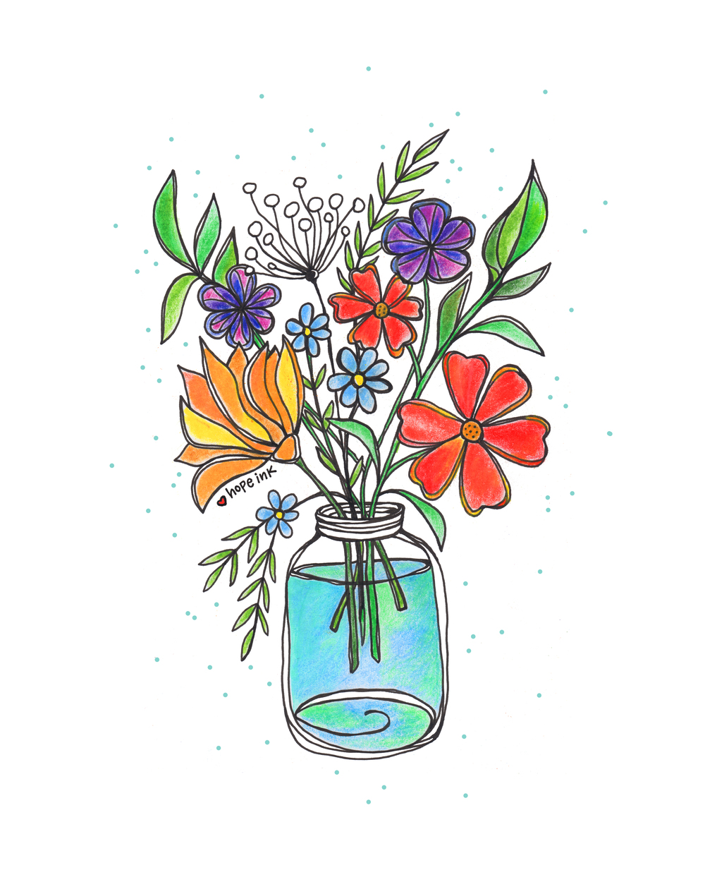 Wildflowers Illustration Hope Ink.jpg