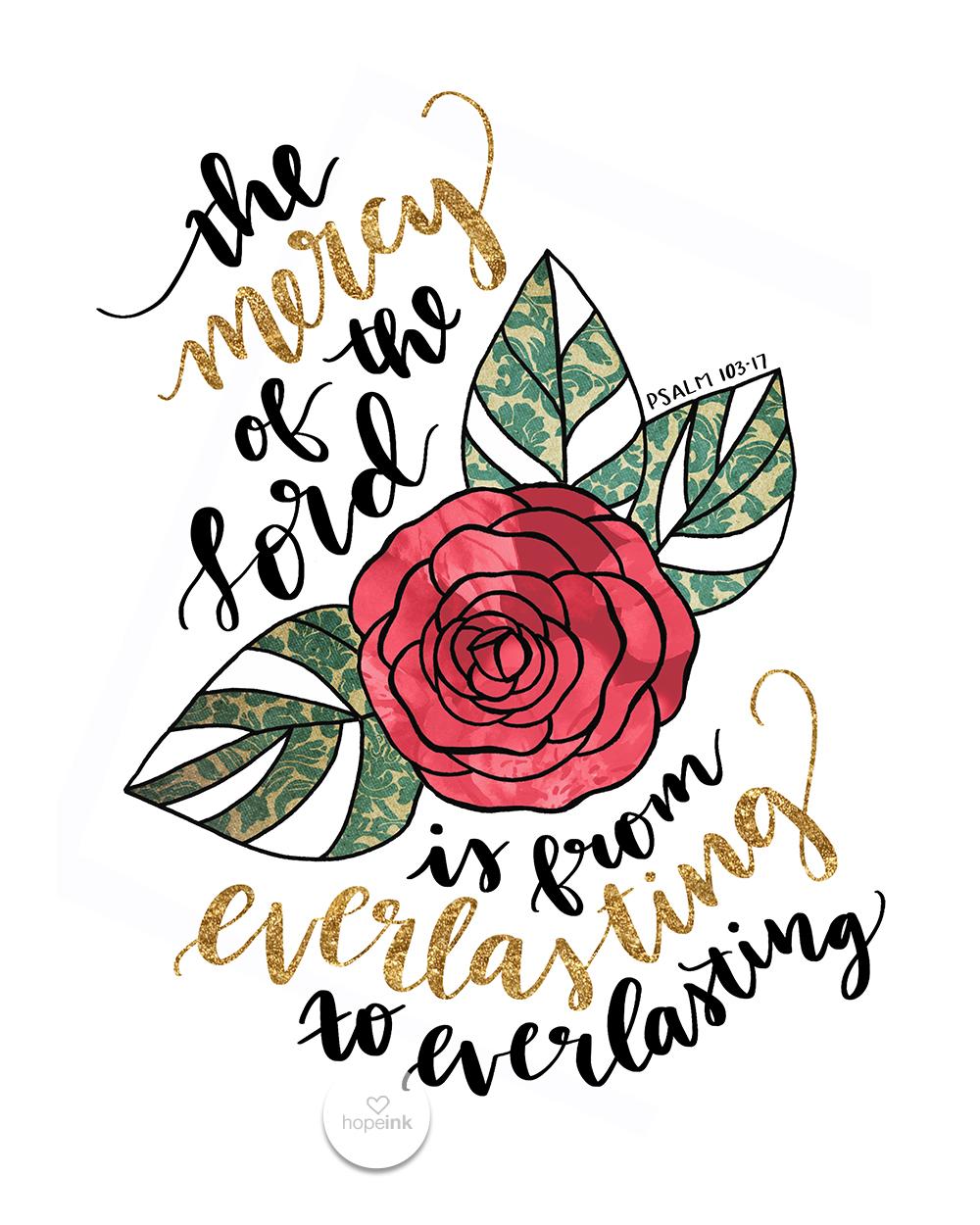 Everlasting Bible Verse Art | Hope Ink.jpg