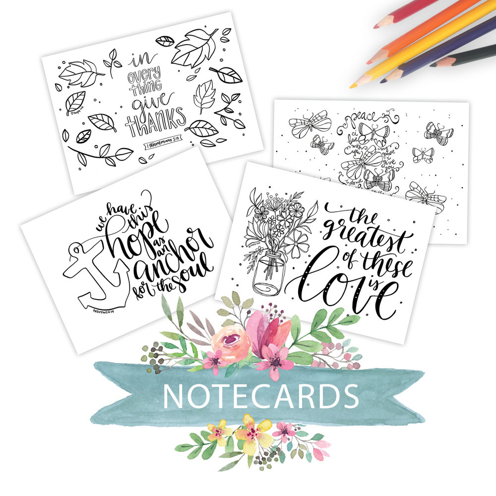 Printable Notecards