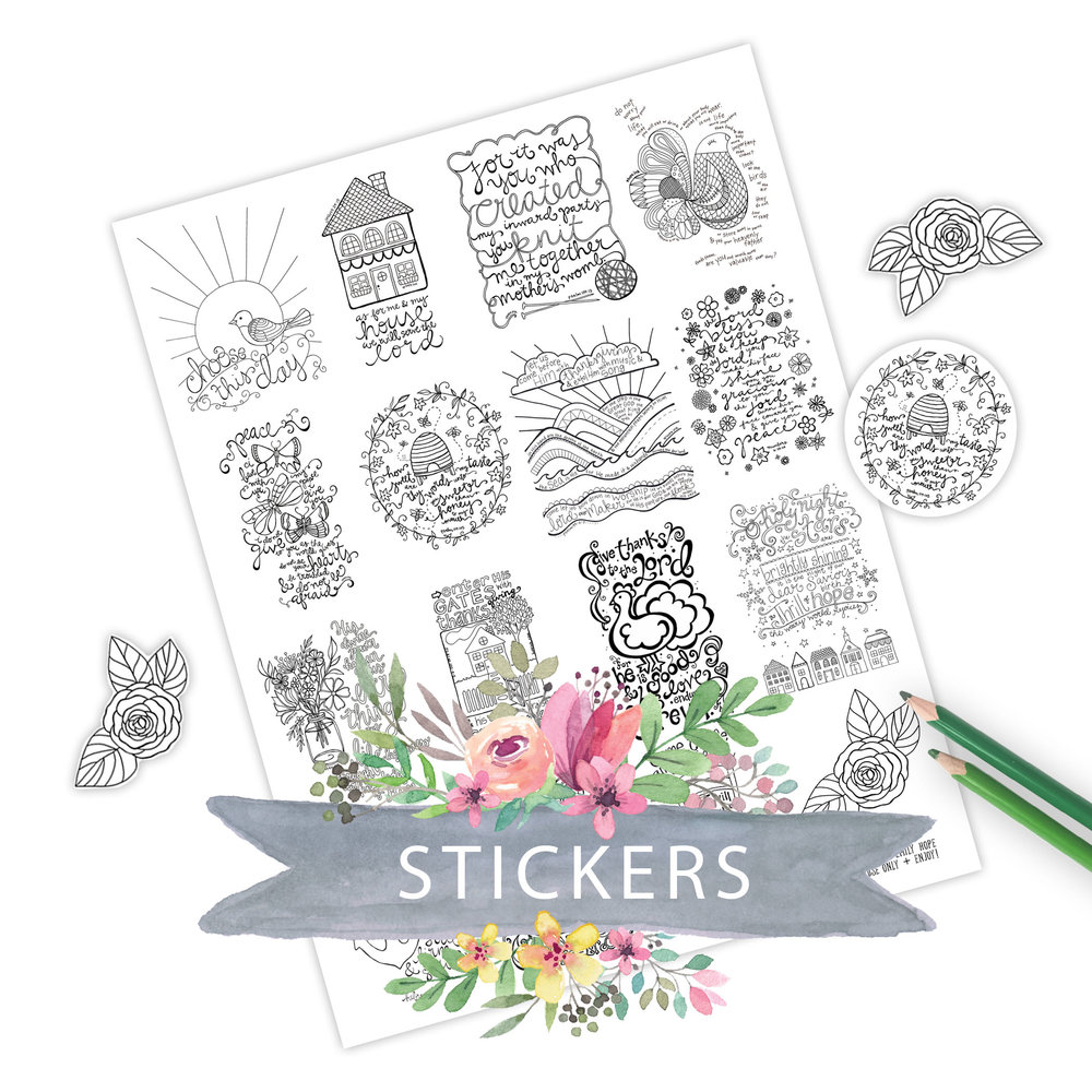 Journaling Stickers