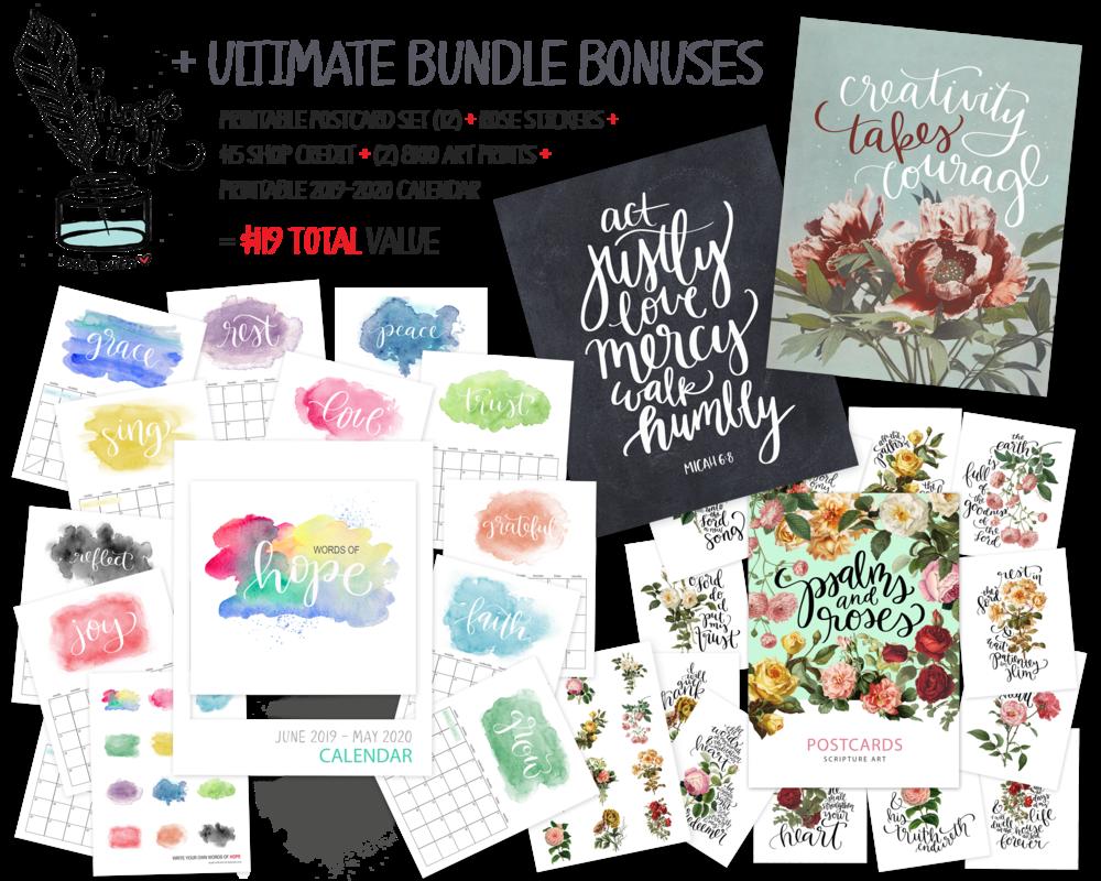 2019 Ultimate Homemaking Bundle | Hope Ink Bonus Offers.png