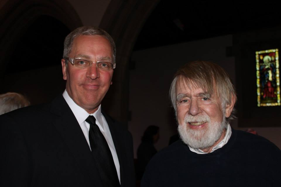 With George Kent, 2014