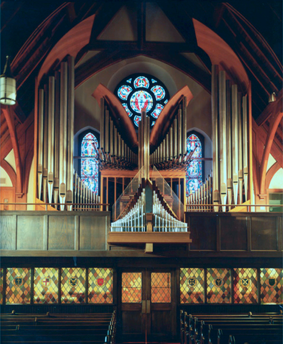 C.B. Fisk organ (Opus 45), Christ Church, Westerly, Rhode Island