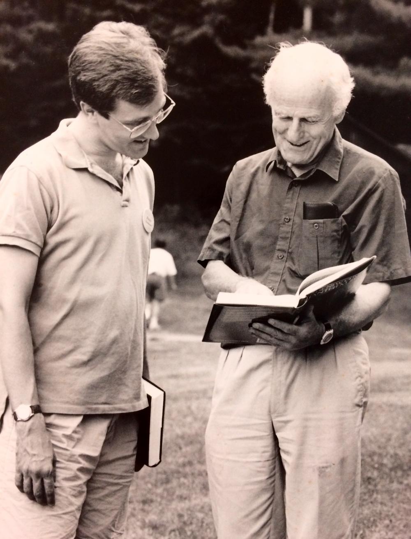 Peter and Sir David Willcocks