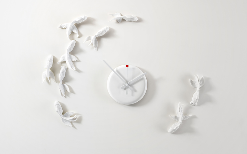 Goldfish X CLOCK  by Haoshi Design Studio/  www.haoshi.com