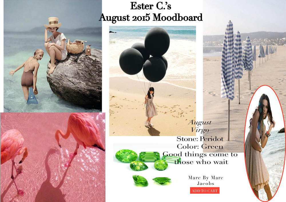 August 2015 Moodboard