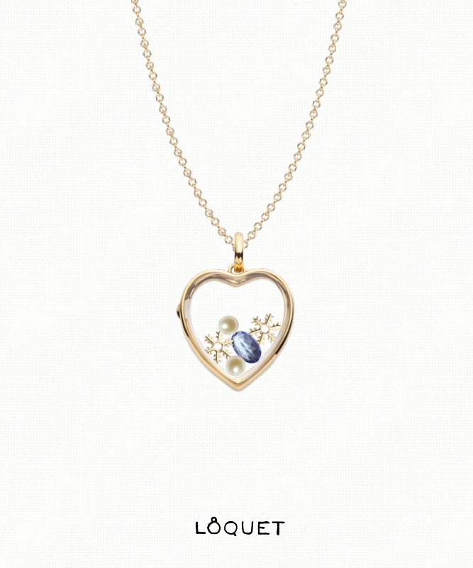 We Love Loquet London's meaningful charms.   If cold December gave you birth, The month of snow and ice and mirth, Place on your hand a tanzanite blue; Success will bless whate'er you do.