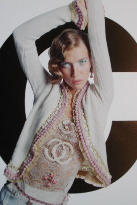 Chanel PomPom Cashmere Jacket